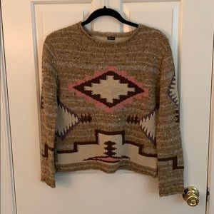 Hand knit Ralph Lauren sweater size medium